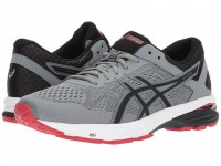 ASICS GT-1000 6 (Stone Grey/Black/Classic Red)