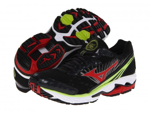 Mizuno Wave Rider 16 (Anthracite/ Red)