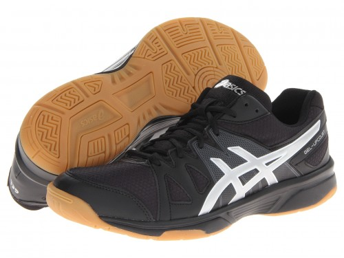 Asics Gel Upcourt (Black/ Silver)