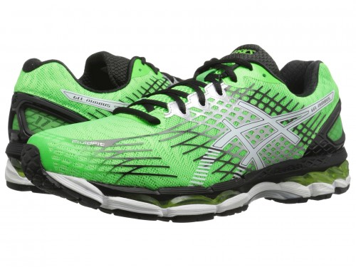 ASICS GEL-Nimbus 17 (Flash Green/White/Black)
