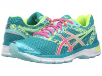 Женские ASICS GEL-Excite 4 (Lapis/Hot Pink/Safety Yellow)