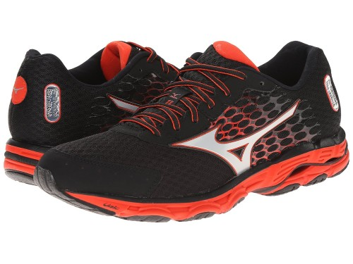 Mizuno Wave Inspire 11 (Black/Orange/Silver)