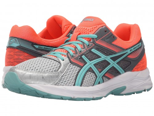 Женские ASICS GEL-Contend™ 3 (Silver/Pool Blue/Flash Coral)