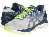 ASICS GEL-Nimbus 18 (Silver/Ink/Flash Yellow)