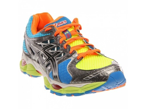 Asics GEL-Nimbus 14 (Lite Bright/ Black/ Blue)