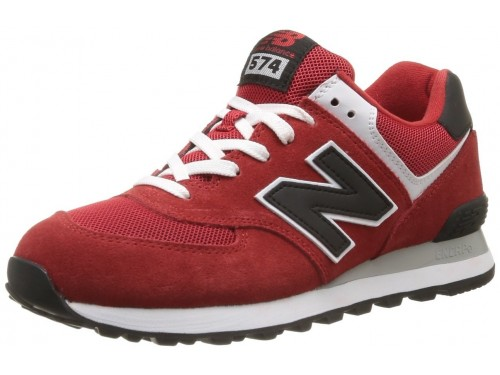 New Balance ML574 (Red/ Black)