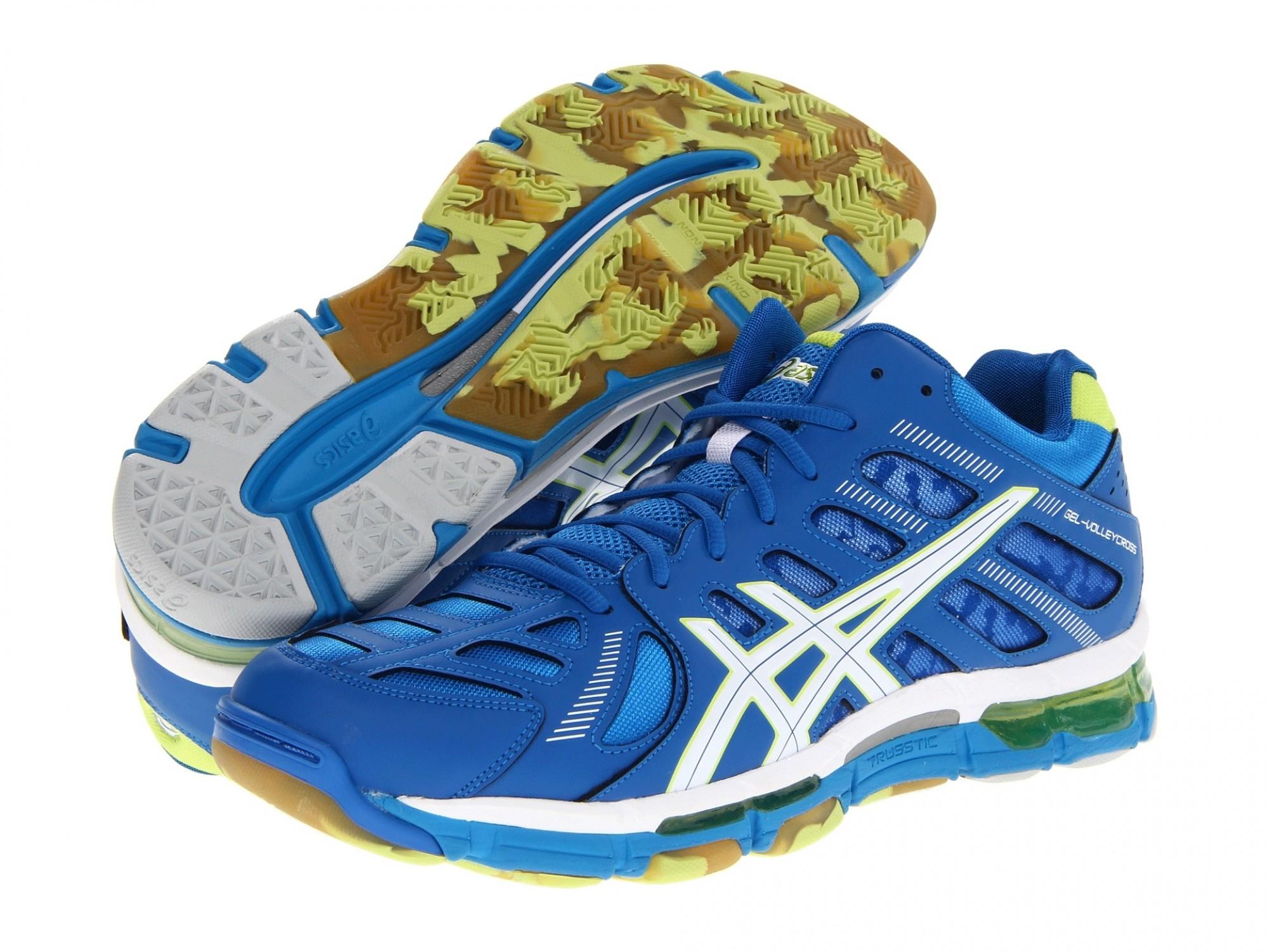 Asics GEL-Volleycross® Revolution MT (Blue) Волейбольные кроссовки ... d643b576b49db
