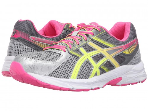 Женские ASICS GEL-Contend™ 3 (Steel Grey/Safety Yellow/Hot Pink)
