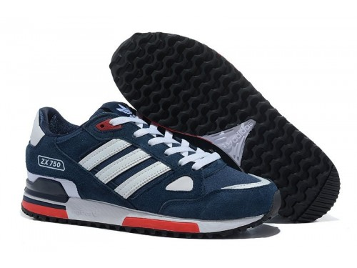 Adidas ZX750 (Blue/ White/ Red)