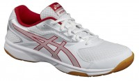 Asics GEL-Upcourt 2 (White/Prime Red/Silver)