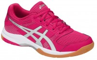 Женские ASICS GEL-Rocket 8 (Bright Rose/Silver/Burgundy)