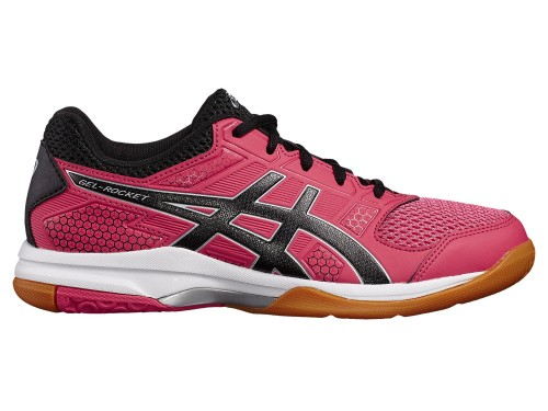 Женские ASICS GEL-Rocket 8 (Rouge Red/Black/White)